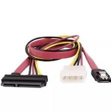 40cm Extension SATA 7+15 Pin to 4 Pin IDE + 7 Pin SATA Data Power Cable
