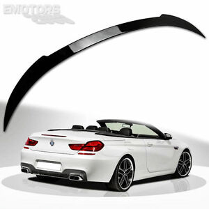 PAINTED Fit For BMW F12 6-SERIES CONVERTIBLE V TRUNK SPOILER 2018 640i 650i M6