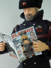 1/6 Scale Russian Playboy GI Joe Oktober Guard Daina - several interior pages