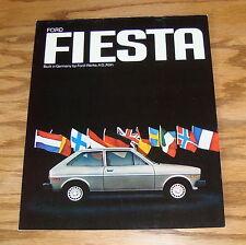 Original 1978 Ford Fiesta Sales Brochure 78