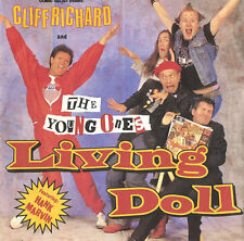 """CLIFF RICHARD & THE YOUNG ONES Living Dolll UK 7"""" vinyl single EXCELLENT CONDITI"""