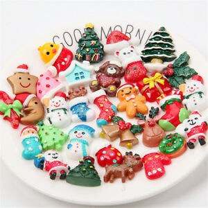 20 Pcs Slime Charms Mixed Christmas Gift Slime Beads for DIY Craft Scrapbooking
