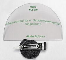 BULLERJAN 01   ROBAX®-Kaminglas, Ofenglas 24,5 x14,6 cm  Dicke: 4 od. 5 mm