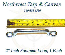"""Footman Loop, 2"""" Inch, Jeep, Corvette, Boat Tie Down, 1 ea.- Ships from The USA!"""