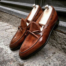 Hand Stitched Mens Latest Laces Style Real Leather Shoes, Luxury shoes for men