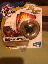 BAKUGAN New Vestroia Bronze Attack Hammer Gorem Rare RETIRED Exclusive