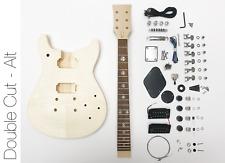 NEW DIY Electric Guitar Kit Double Cut Build Your Own Guitar Kit – Alt Neck