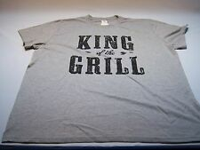 "Target Casual ""King Of The Grill"" T-shirt Men's Size XXL NWT"