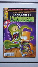 COMICS / BART SIMPSON / LA CABANE DE L HORREUR / NUM 2  / NOVEMBRE  2001