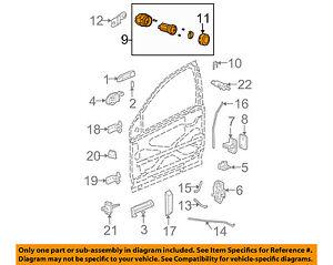 Saturn GM OEM 03-07 Ion-Door Lock Cylinder 15785083