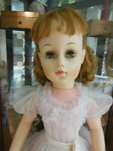 VINTAGE MADAME ALEXANDER MIMI DOLL TAGGED ORIGINAL DRESS 30""