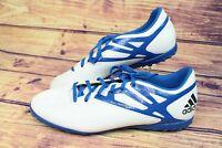 ~~Adidas Messi 15.4 TF B25466 White/Blue Football Boots UK 9