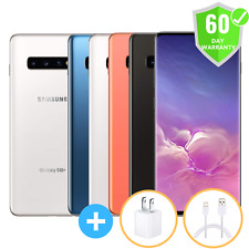 Samsung Galaxy S10 + Plus G975U | GSM Factory Unlocked Excellent 128GB 512GB 1TB