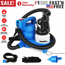 Electric HVLP Spray Gun Paint Sprayer w/ Nozzle Cooling Sys 800ml/min 3 Pattern