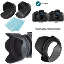 55Mm And 58Mm Digital Tulip Flower Lens Hood For Nikon D3500, D5600, D3400 Dslr