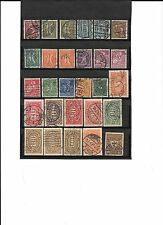 GERMANY- EARLIEST ( 1921) INFLATION ISSUE- 28 USED STAMPS ( FOR FILL IN)