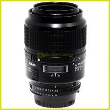 Nikon AF-D Micro Nikkor 105mm f2,8. Tele obiettivo per macro 1:1 Close up lens