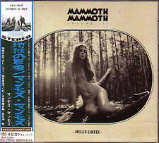 MAMMOTH MAMMOTH Volume III - Hell's Likely + 1 JAPAN CD Aussie Stoner/Doom Metal