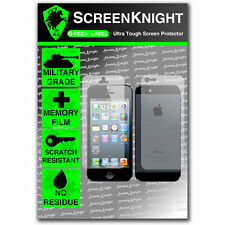 ScreenKnight iPhone 5 FULL BODY SCREEN PROTECTOR invisible MILITARY GRADE shield