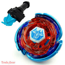 WBBA BB105 Big Band Pegasus BEYBLADE Masters Fusion+GRIP+BLUE SPIN LAUNCHER NEW