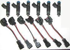 Set of 6 Brand New UPGRADE Injectors, 2002-05 AUDI Quattro, Avant, A6, S4, 2.7 L