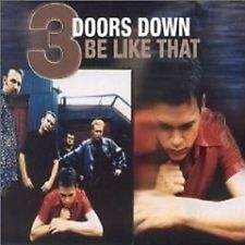 3 DOORS DOWN Be Like that / Duck ACOUSTIC & 2 VIDEO CD
