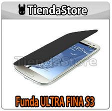 Funda FINA compatible GALAXY S3 I9300 - Carcasa delgada protector pantalla NEGRA