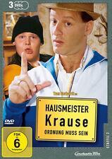 3 DVDs * HAUSMEISTER KRAUSE - STAFFEL 2 ~ Tom Gerhardt # NEU OVP