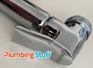 Quality Bidet Hand Shower - Original JAXI KIT Round - Metal Chrome On/Off Spring