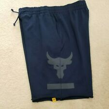 NWT UNDER ARMOUR PROJECT X ROCK ATHLETIC WORKOUT SHORTS MEN SIZE L LOOSE