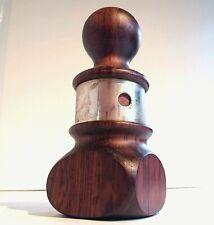 VERY RARE Jens Quistgaard Pepper Mill Grinder Dansk Denmark Rosewood & Silver