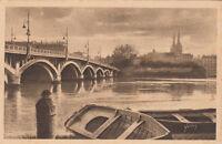 BAYONNE 7 l'adour et le pont saint-esprit barque