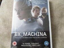 EX_Machina,pal 2 uk dvd,new,sealed,fast post! :)