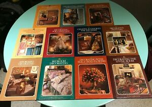 11 x Arts & Crafts For Home Decorating books Painting Bedroom Flowers Lounge etc