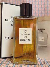 Vintage RARE 1950-60s !! Chanel No 5 Eau de Cologne 2 oz 60 ml - OLD FORMULA
