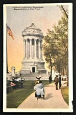 New listing Soldier's & Sailor's Monument New York City NY Postcard PC 1922