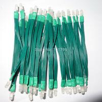 50 PureTek® PL9823 APA106 F5 5mm RGB LED Tophat WS23812B, 100mm apart