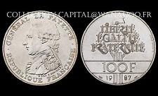 100 Francs La FAYETTE. 1987 Argent