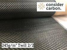 Carbongewebe Kohlefasergewebe 160g m² Köper für Epoxidharz Karosserie Auto Boot