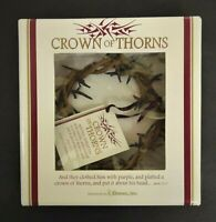 """Roman, Inc. Crown Of Thorns Easter Ornament NEW  6"""""""