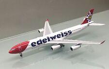 Phoenix 1/400 Edelweiss Air Airbus A340-300 HB-JMG die cast metal model