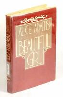 FIRST EDITION ALICE ADAMS SIGNED 1979 BEAUTIFUL GIRL SHORT STORIES HARDCOVER DJ