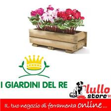 VASO Fiori Vaso Fioriera CESTO IN CEMENTO DA GIARDINO MARRONE 23//16 cm