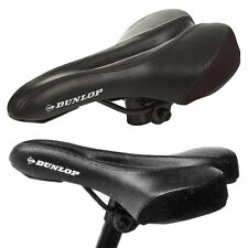 Dunlop City Bike MTB Bicycle Saddle Ergonomic Gel Comfort Seat Relieves Pressure