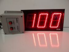Industrial LED Number Display 3 digit up counter ( NOS )