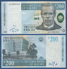 MALAWI  200 Kwacha  1.7.1997  UNC  P. 41