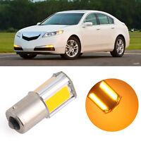 Amber/Yellow BA15S 1156 42 COB LED  Turn Signal Rear Light Car Bulb Lamp  AU