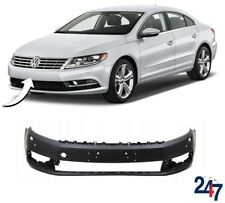 NEW VOLKSWAGEN VW CC 2012-2017 FRONT BUMPER WITH HEADLIGHT WASHER AND PDC HOLES