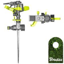 Impulsregner Rasensprenger Metall Kreisregner 360° Sprinkler
