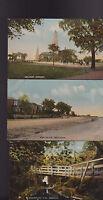 Greenock Scotland Postcard Lot of 5 1920s Auchmountain Glen Wellpark Clyde